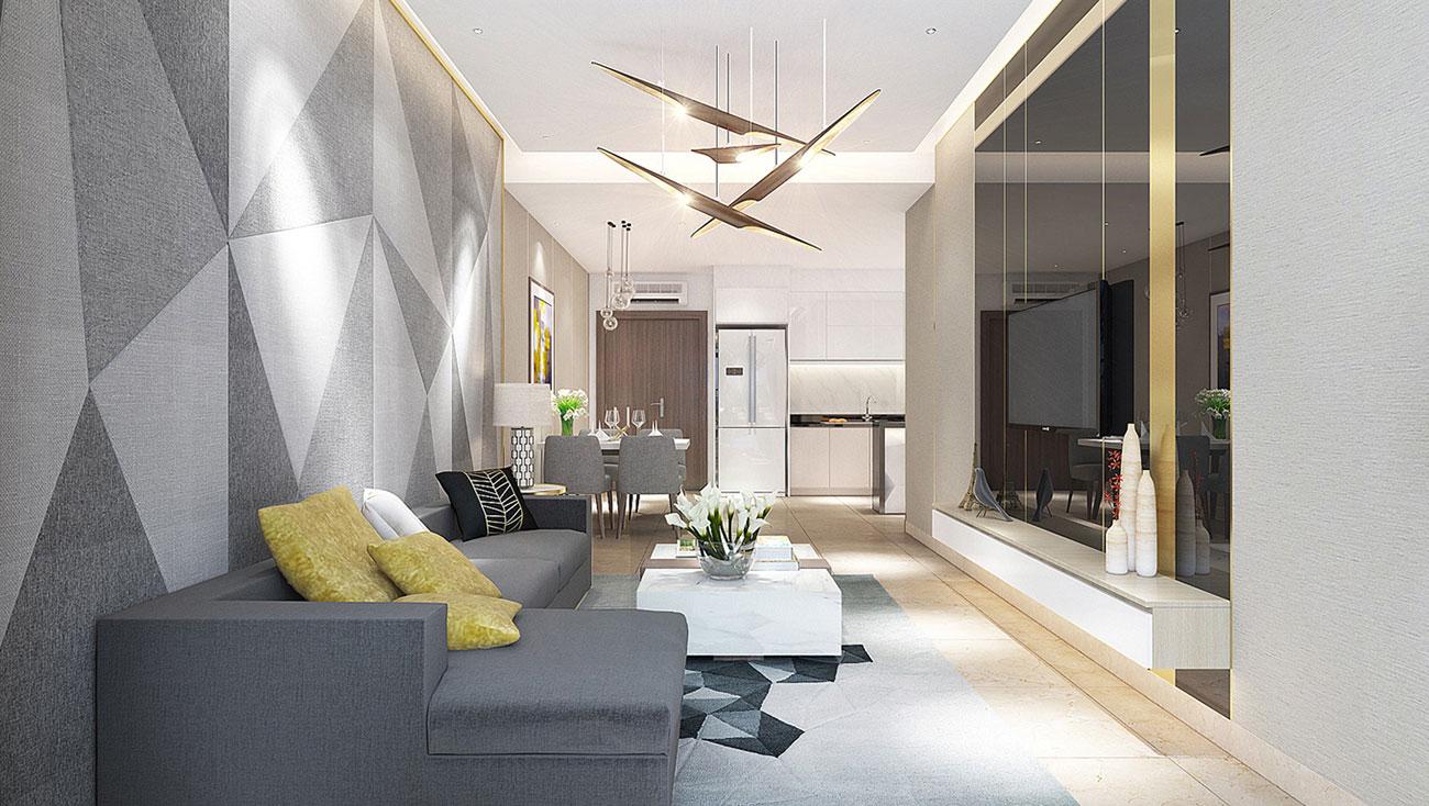 Nhà mẫu dự án căn hộ Lux Star Quận 7