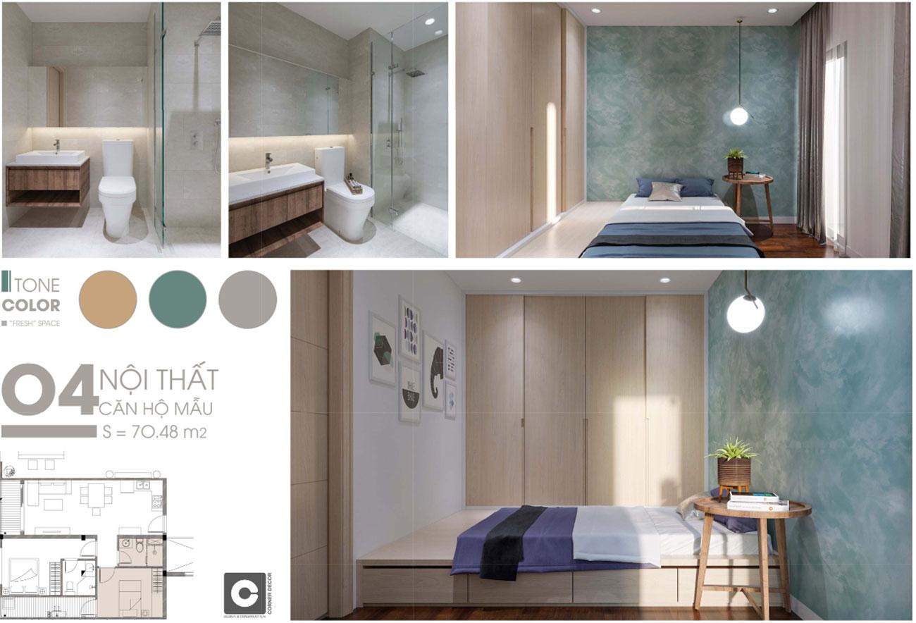 Nhà mẫu dự án căn hộ Opal Cityview Bình Dương