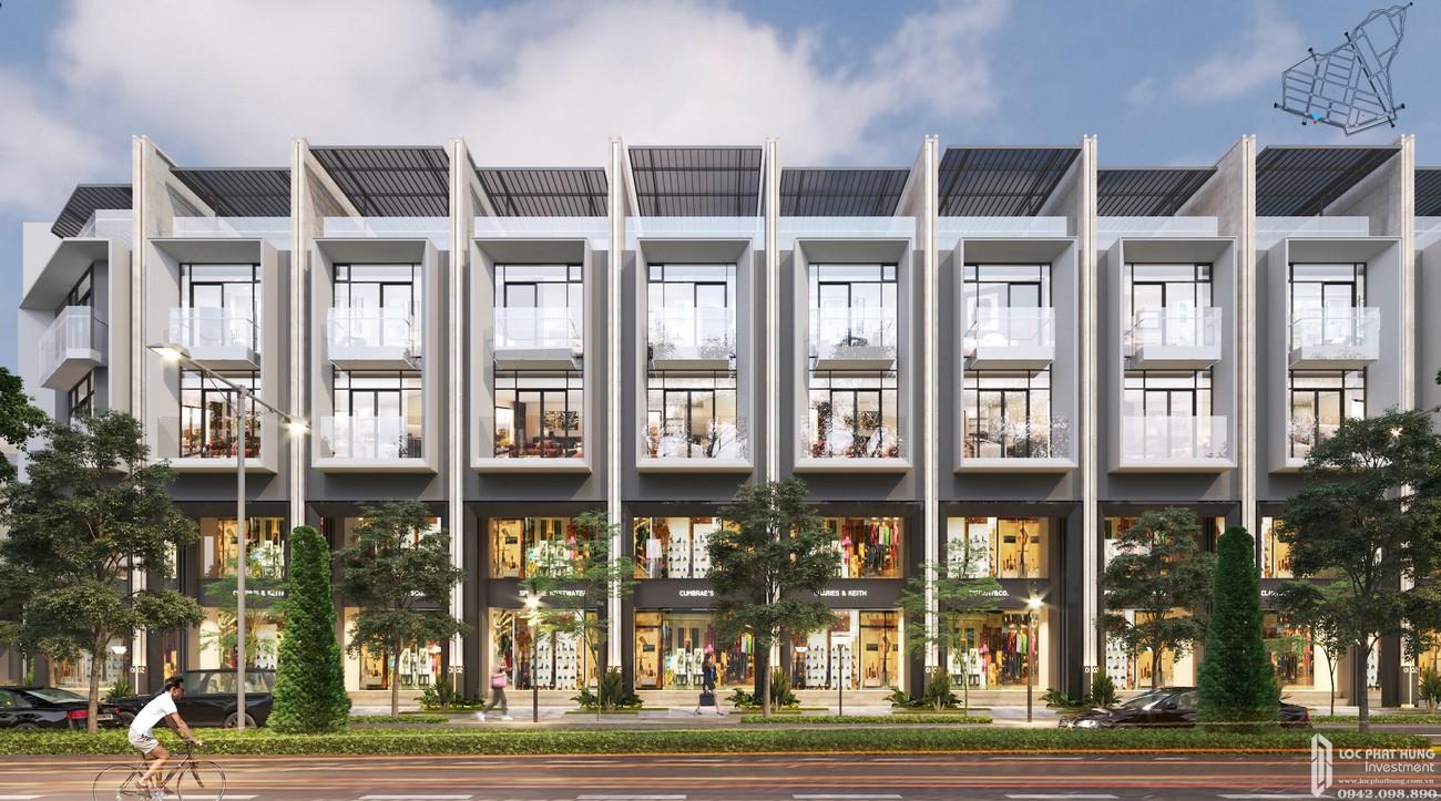 Nhà mẫu dự án đất nền nhà phố biệt thự Qi Island Bình Dương Đường Ngô Chí Quốc chủ đầu tư Hoa Lâm