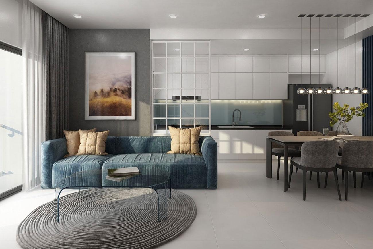 Nhà mẫu dự án căn hộ chung cư Royal Park Riverside Quận 8