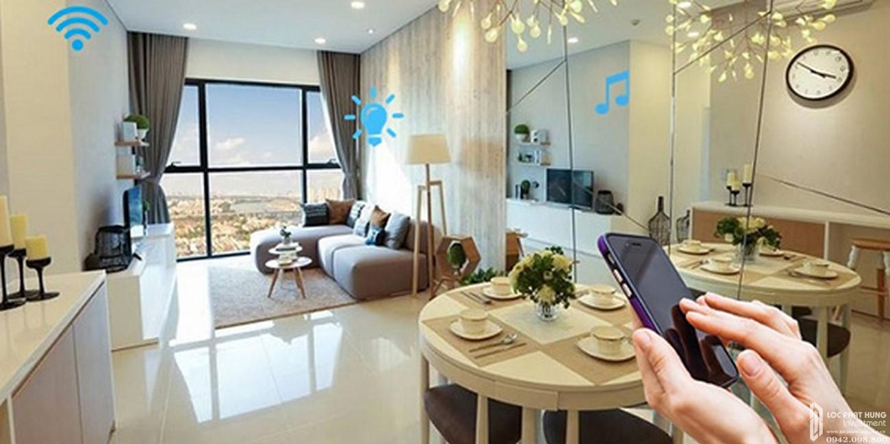 Nội thất bàn giao dự án căn hộ Q7 Sai Gon Riverside Complex
