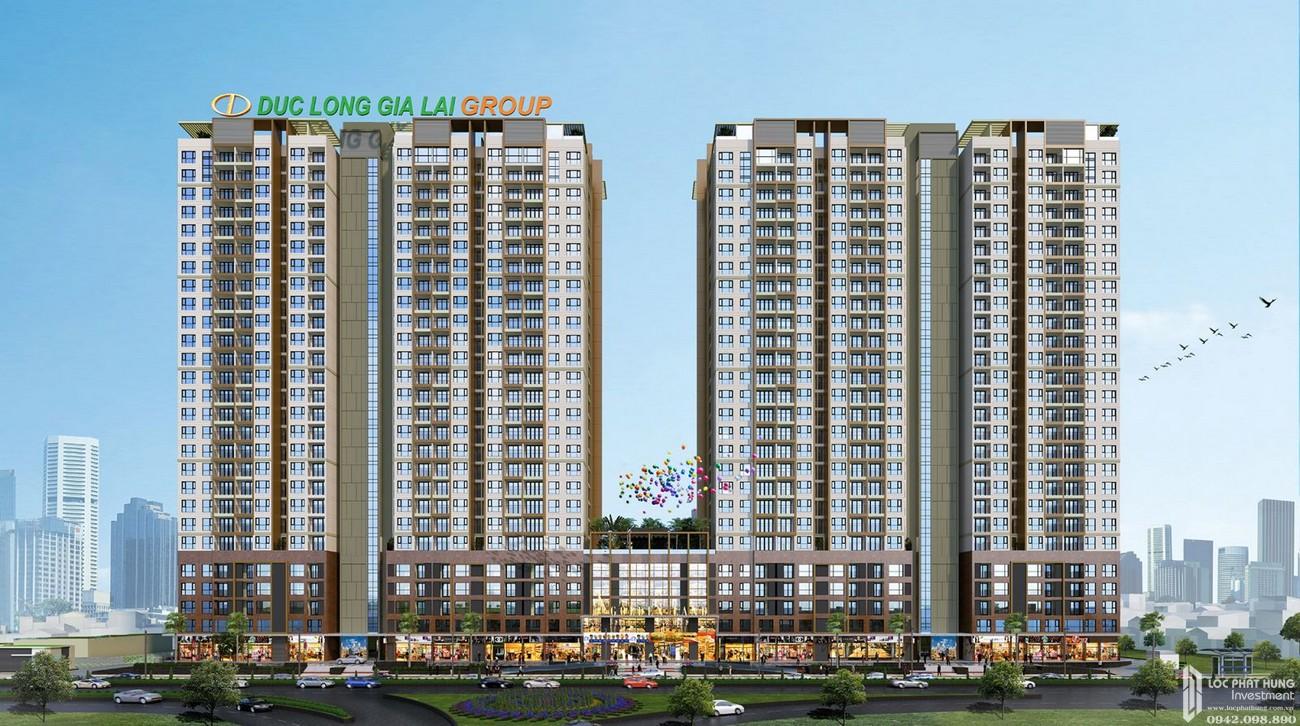 Phối cảnh tổng thể dự án Căn Hộ chung cư Đức Long Golden Land Quan 7 Đường Huỳnh Tấn Phát chủ đầu tư Đức Long Gia Lai