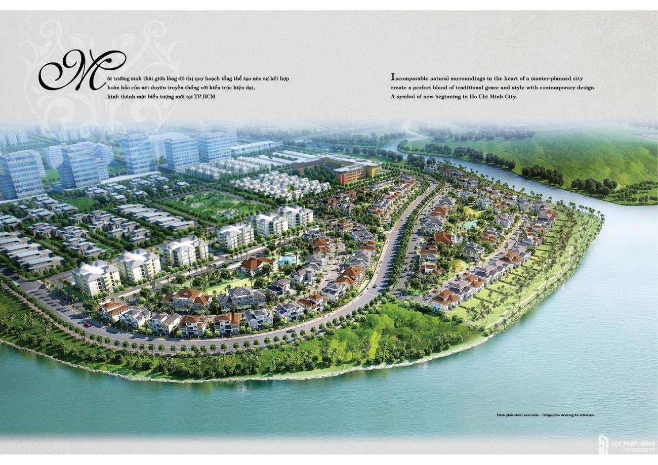 Phối cảnh tổng thể dự án Căn Hộ chung cư Hồng Thịnh Phú Mỹ Hưng Quận 7 Đường Huỳnh Tấn Phát chủ đầu tư Phú Mỹ Hưng