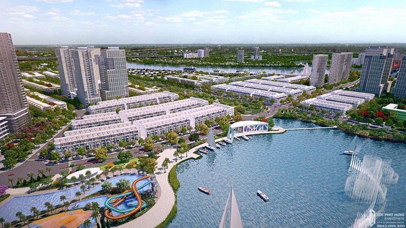 Phối cảnh tổng thể dự án căn hộ Him Lam City Quận 2