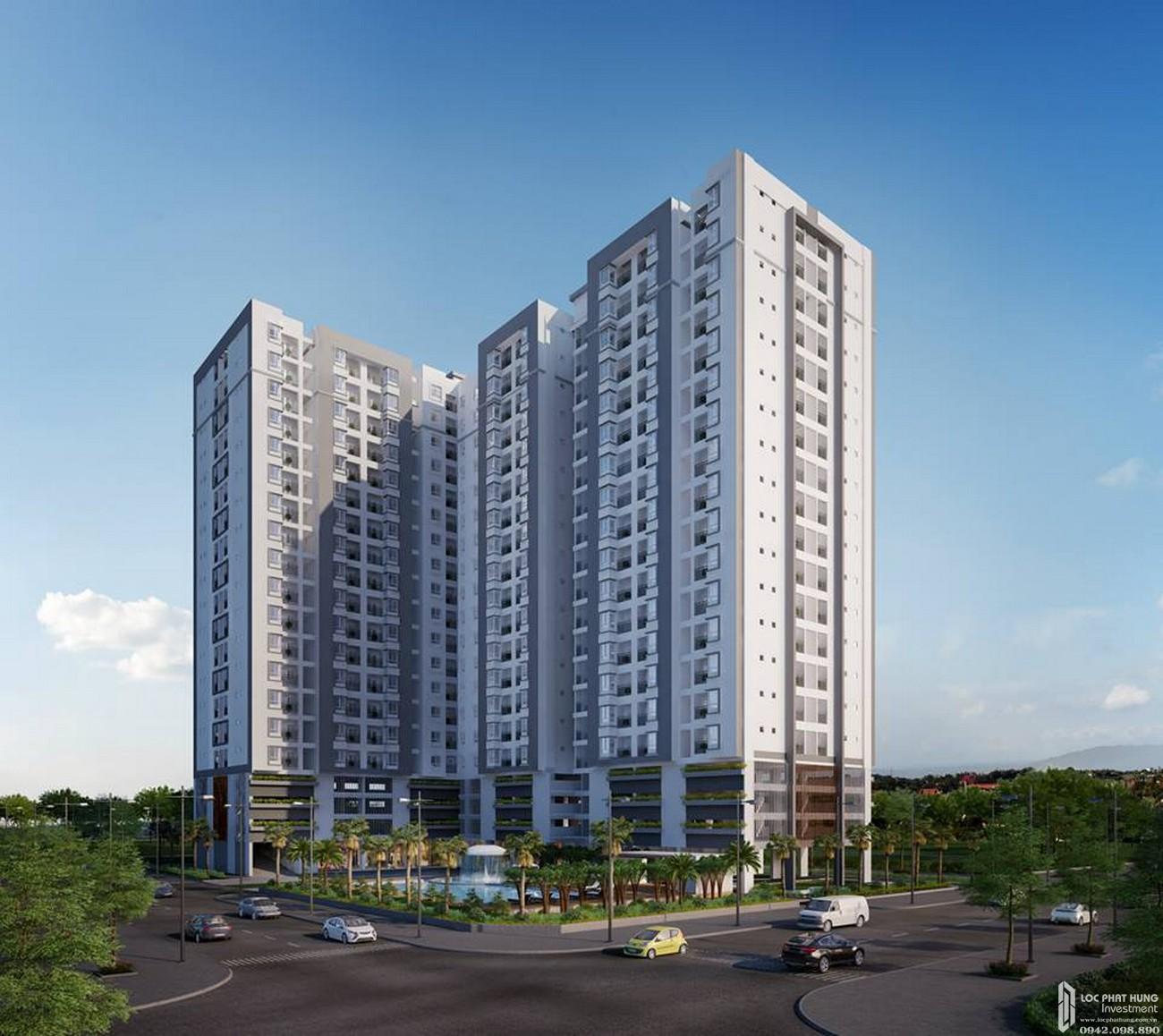 Phối cảnh dự án căn hộ Him Lam Phú Đông tỉnh Bình Dương