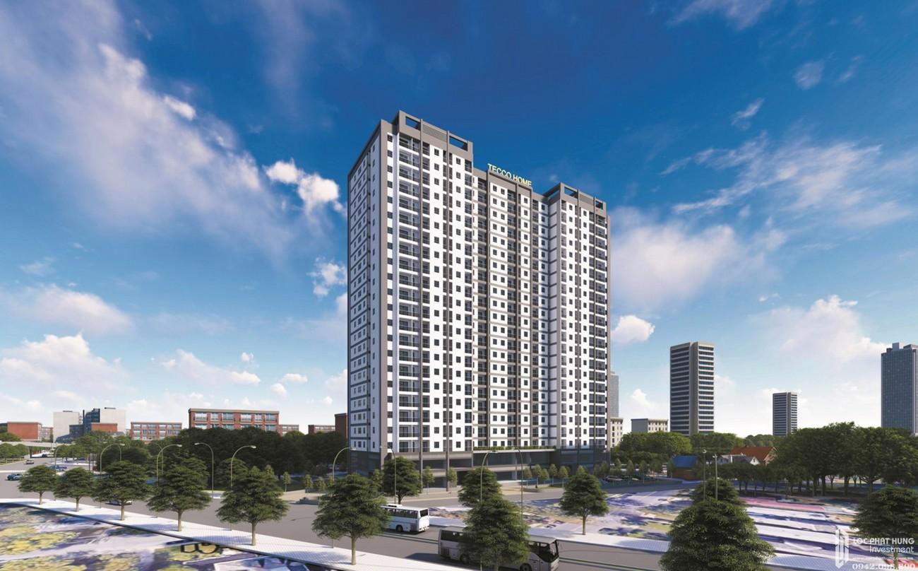 Phối cảnh dự án căn hộ thương mại và chung cư Tecco Home An Phú
