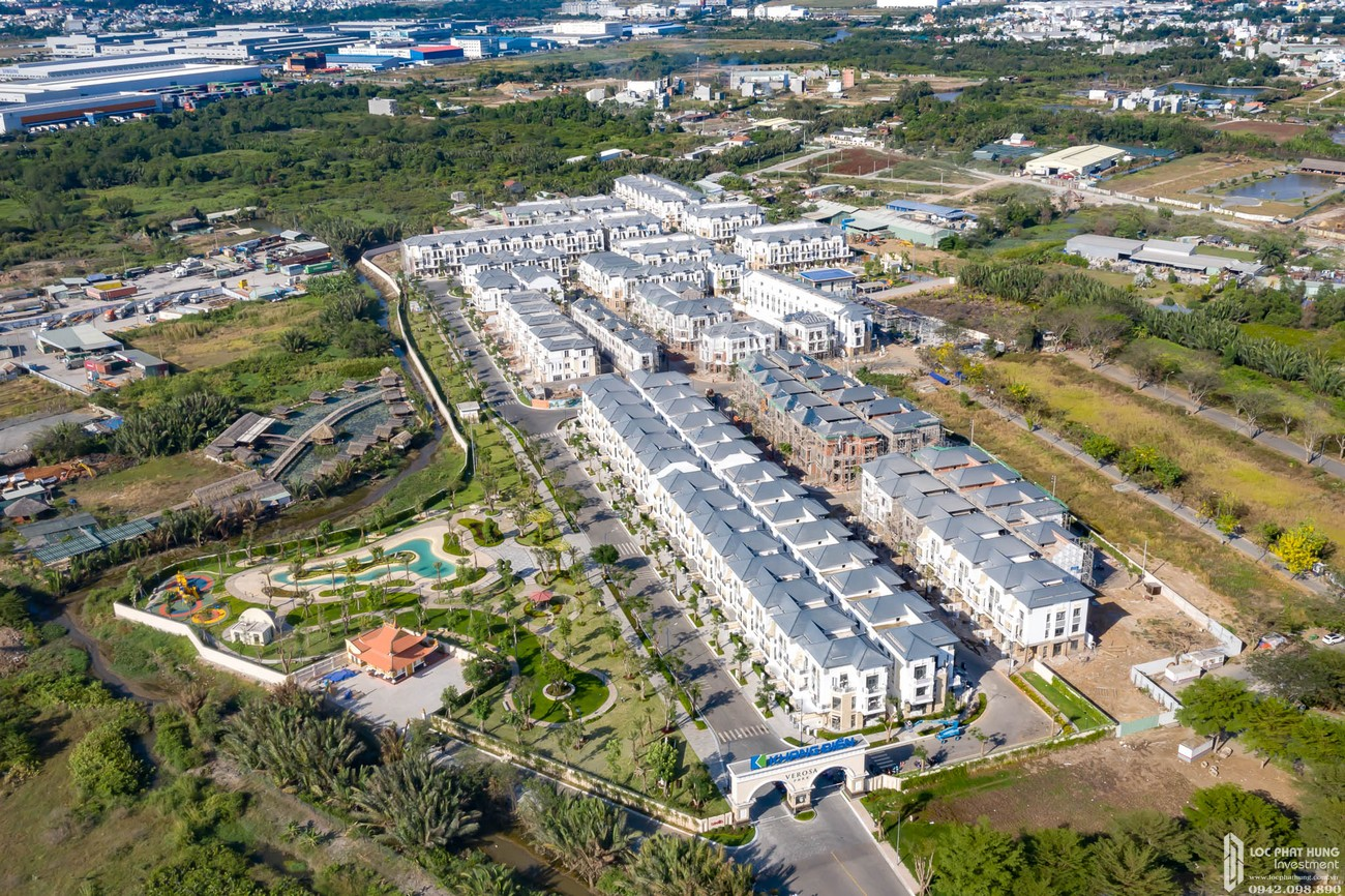 Tiến độ dự án Verosa Park Khang Điền tháng 02/2020