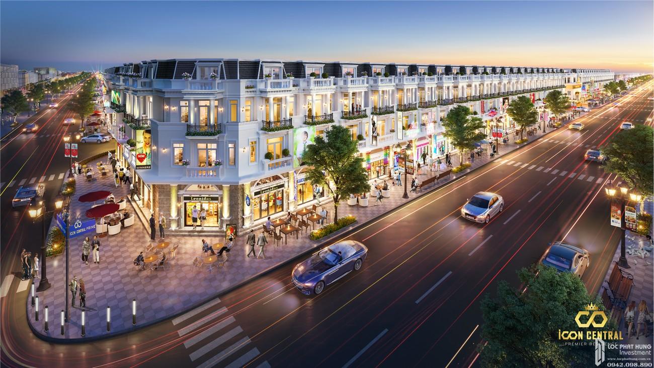 Giới thiệu tổng quan dự án Nhà phố Icon Central Dĩ An Bình Dương