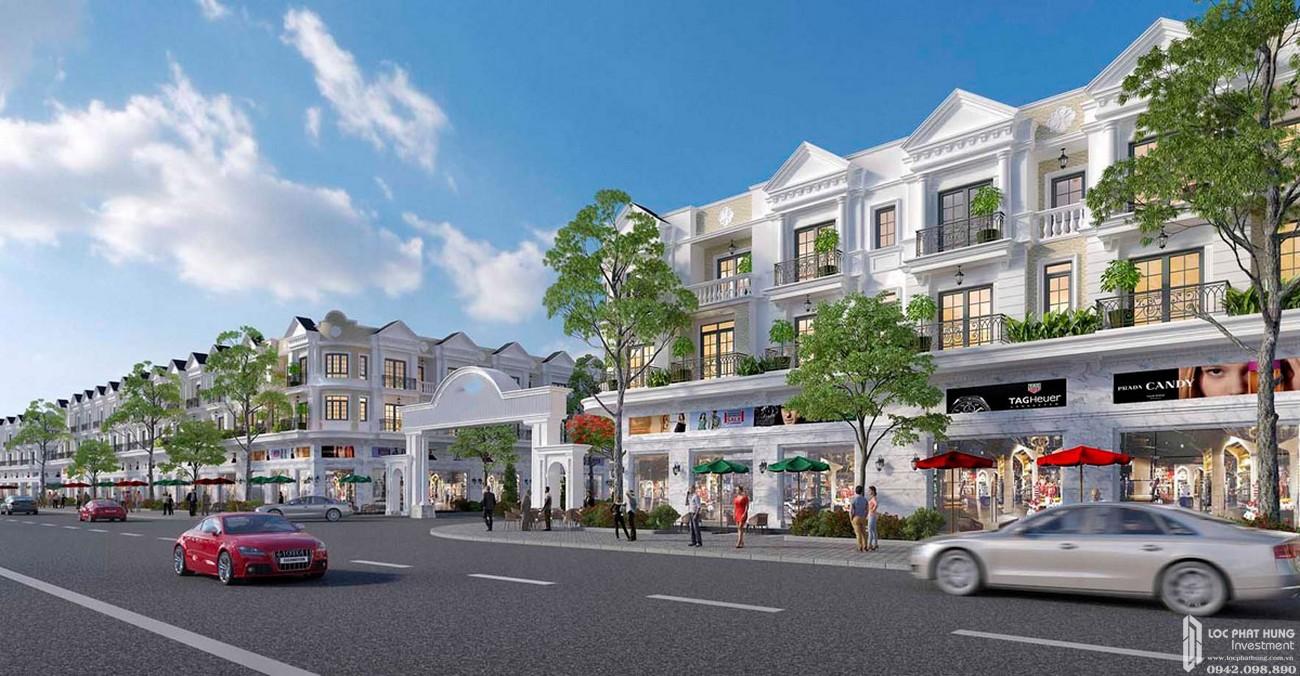 Phối cảnh dự án đất nền nhà phố Thuận Hòa Lucky Home Đồng Xoài Đường DT741 chủ đầu tư Thuận Hòa