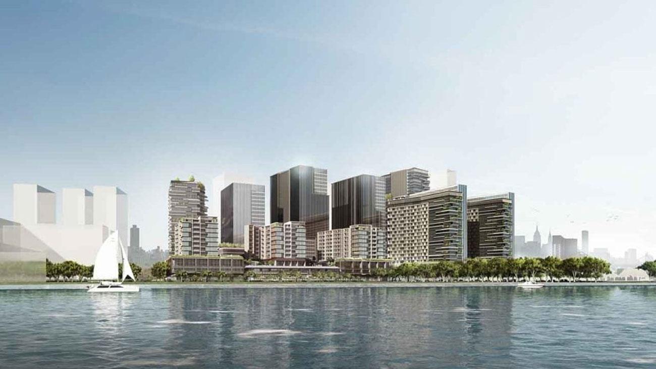Phối cảnh tổng thể dự án Metropole Thủ Thiêm