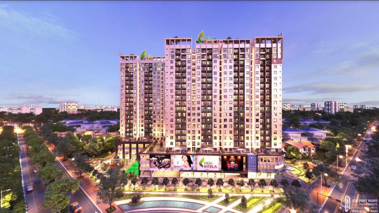 Phối cảnh tổng thể dự án căn hộ High Intela Võ Văn Kiệt