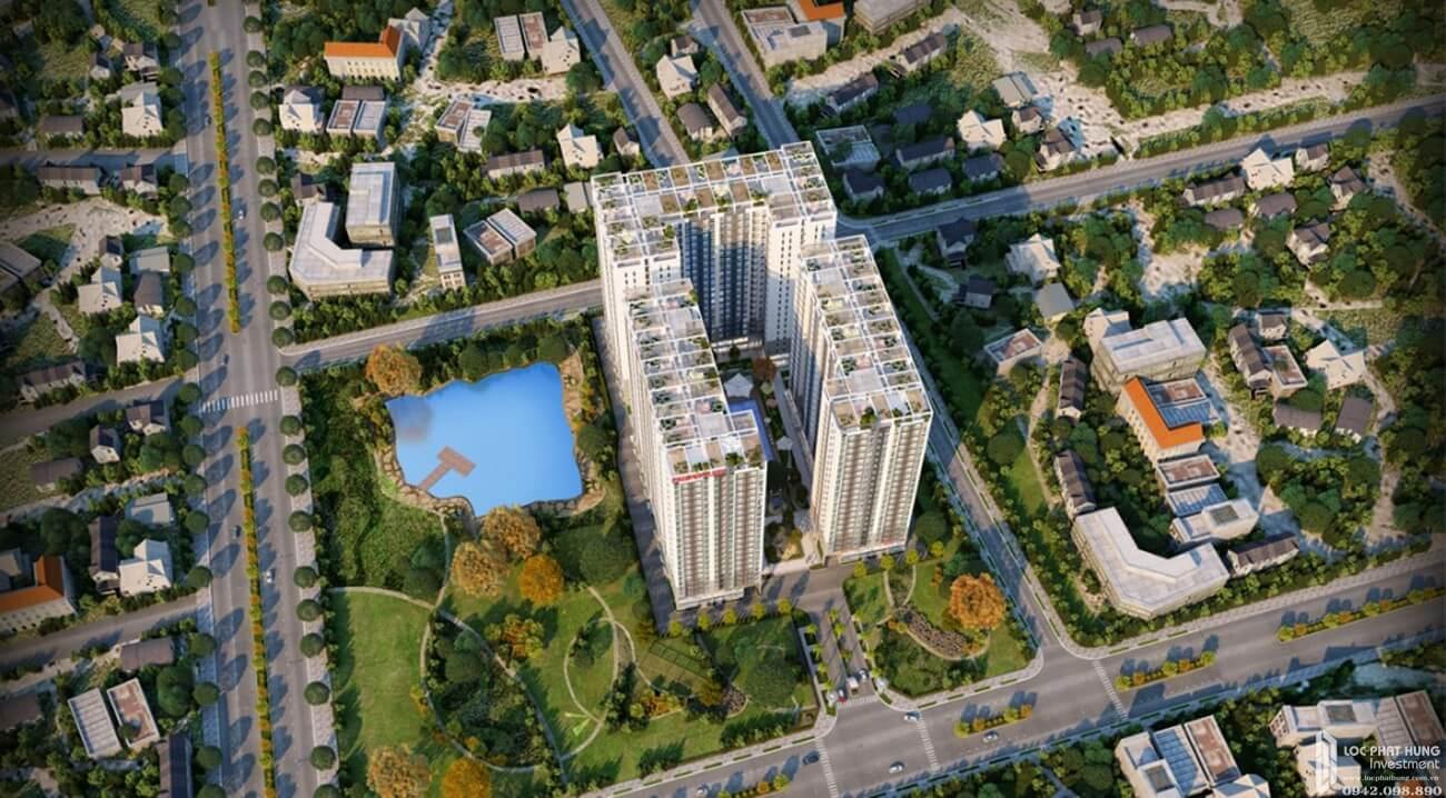 Phối cảnh tổng thể dự án căn hộ Lux River View Quận 7