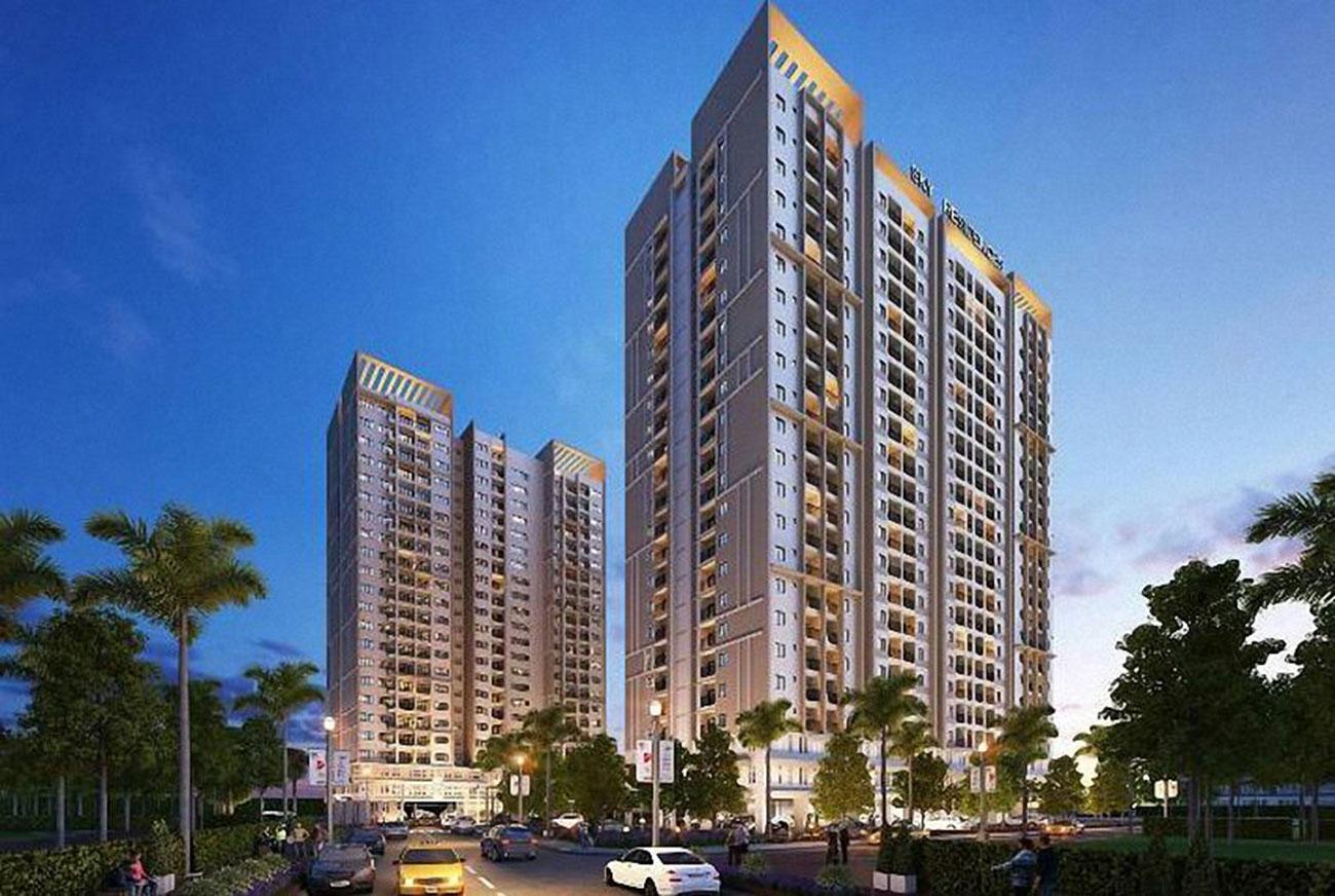 Phối cảnh tổng thể dự án căn hộ Opal Avenue Binh Duong