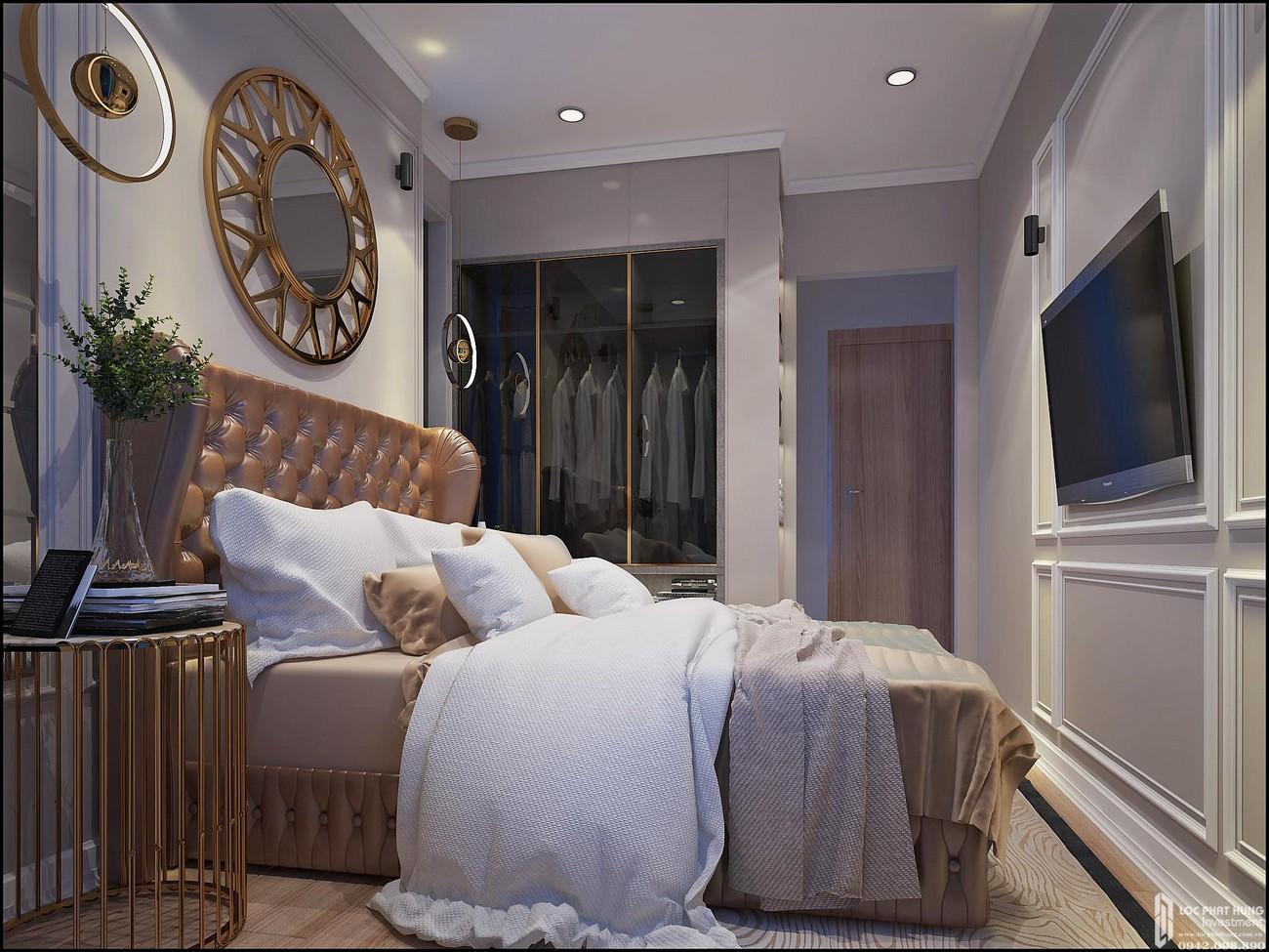Phòng ngủ dự án Căn Hộ chung cư Bcons Miền Đông Dĩ An Đường Tân Lập chủ đầu tư Bcons