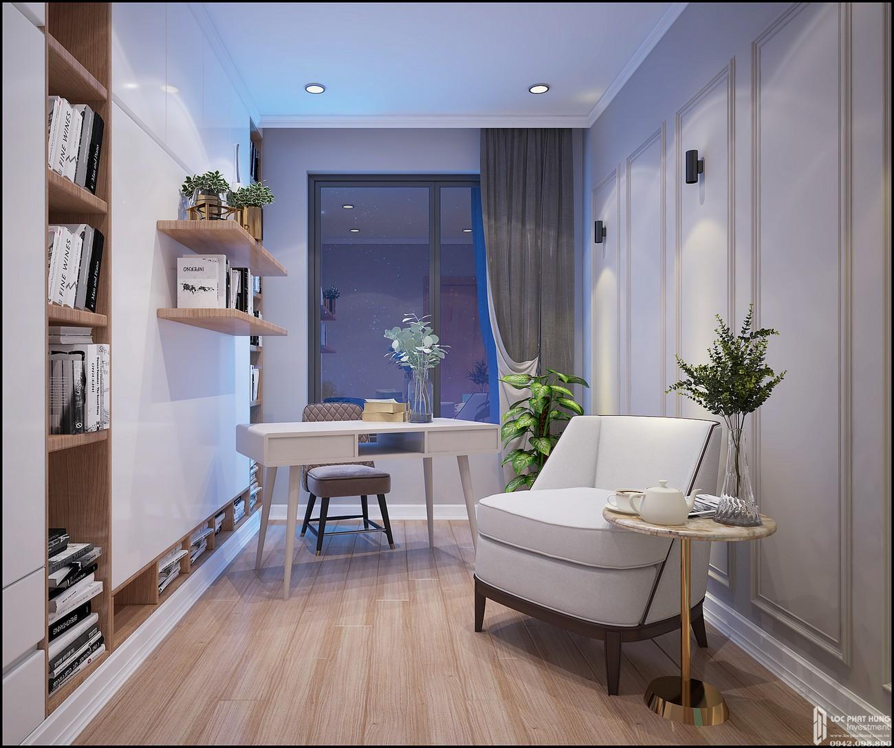 Phòng ngủ Căn Hộ 3PN chung cư Bcons Miền Đông Dĩ An Đường Tân Lập chủ đầu tư Bcons