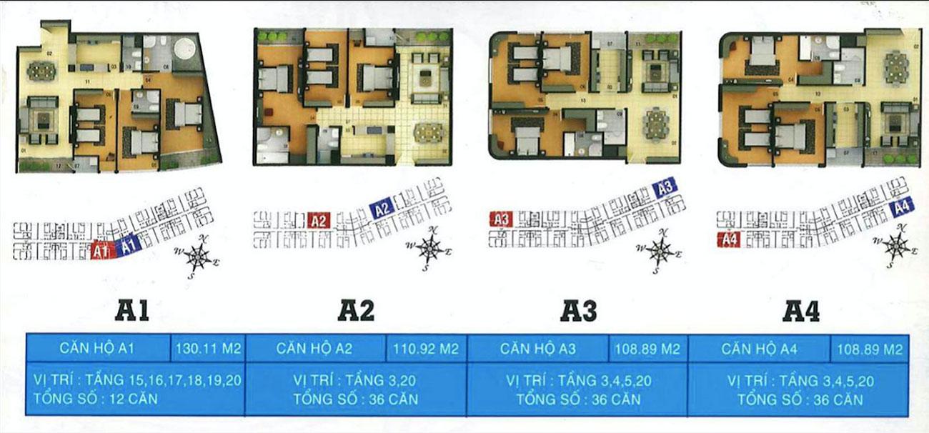 Thiết kế chi tiết các căn hộ tại Royal Park Riverside quận 8