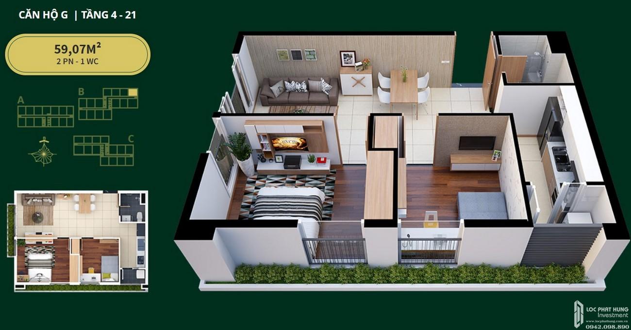 Thiết kế chi tiết dự án căn hộ Diamond Lotus Lake View Tân Phú