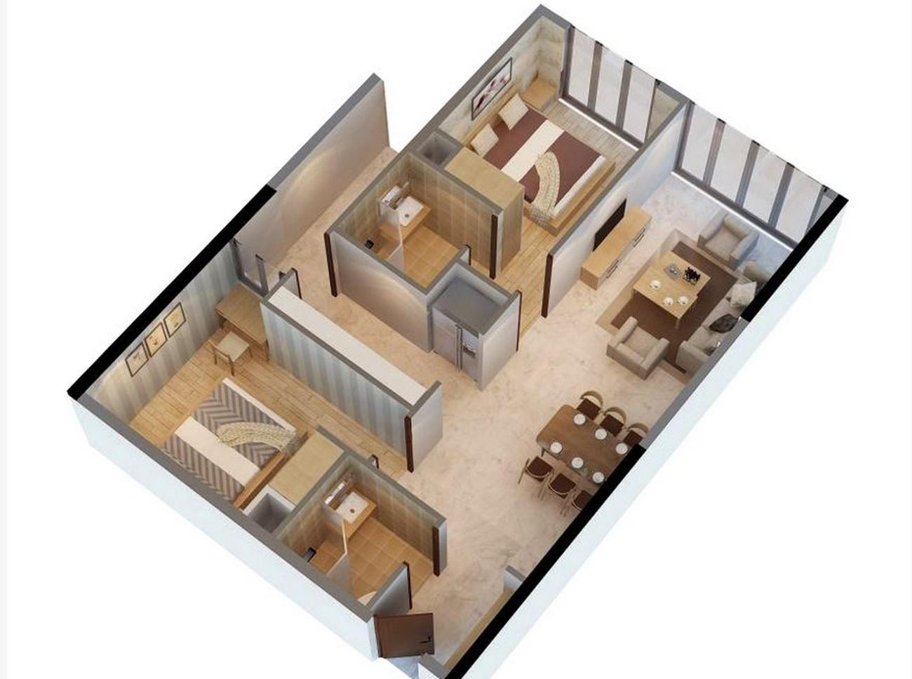 Thiết kế  dự án Căn Hộ chung cư Đức Long Golden Land Quan 7 Đường Huỳnh Tấn Phát chủ đầu tư Đức Long Gia Lai