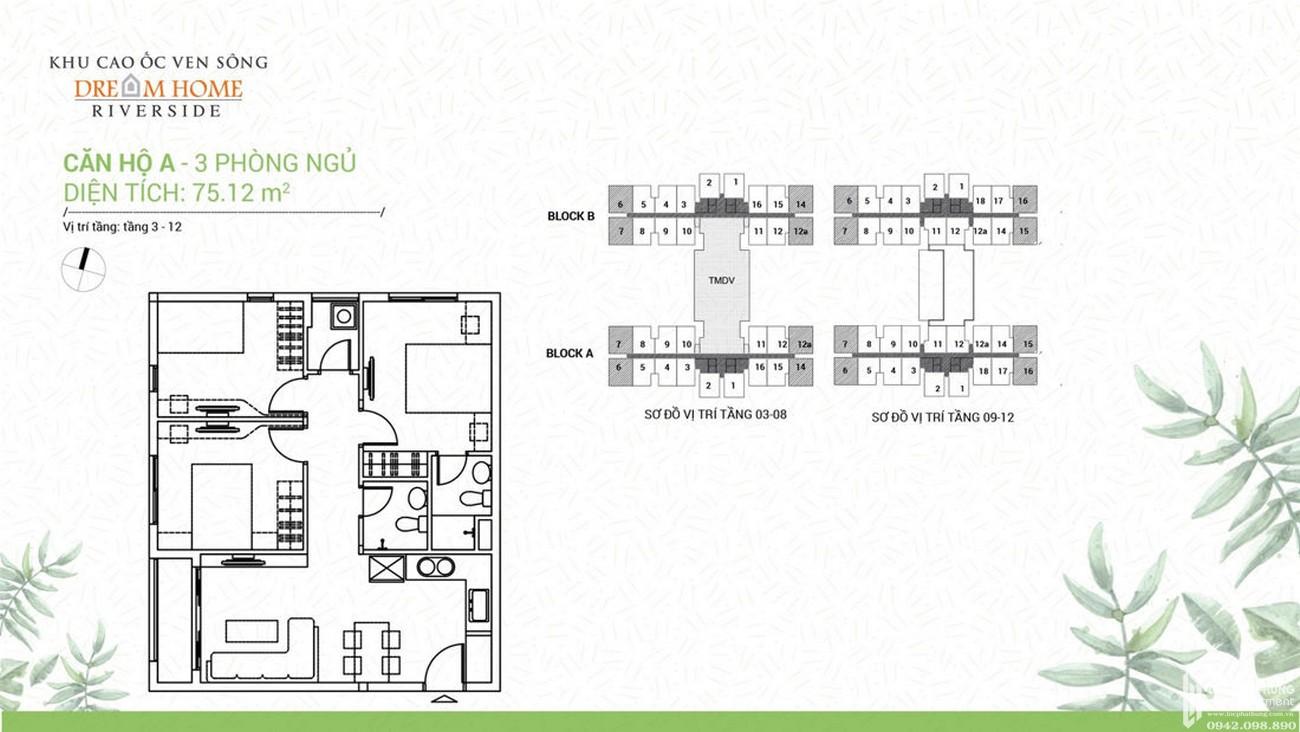 Thiết kế dự án căn hộ Dream Home Riverside quận 8
