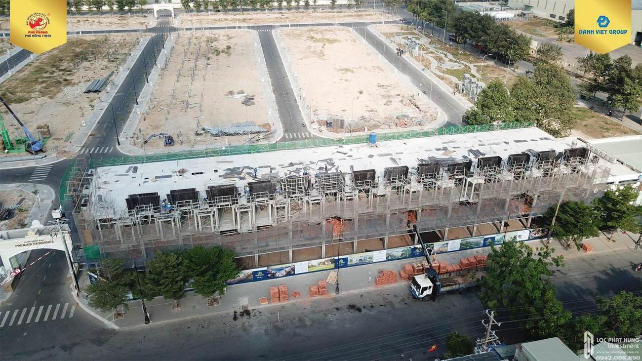 Tiến độ xây dựng Nhà phố + Đất Nền dự án Icon Central 02/2020 – Nhận ký gửi mua bán + Cho thuê