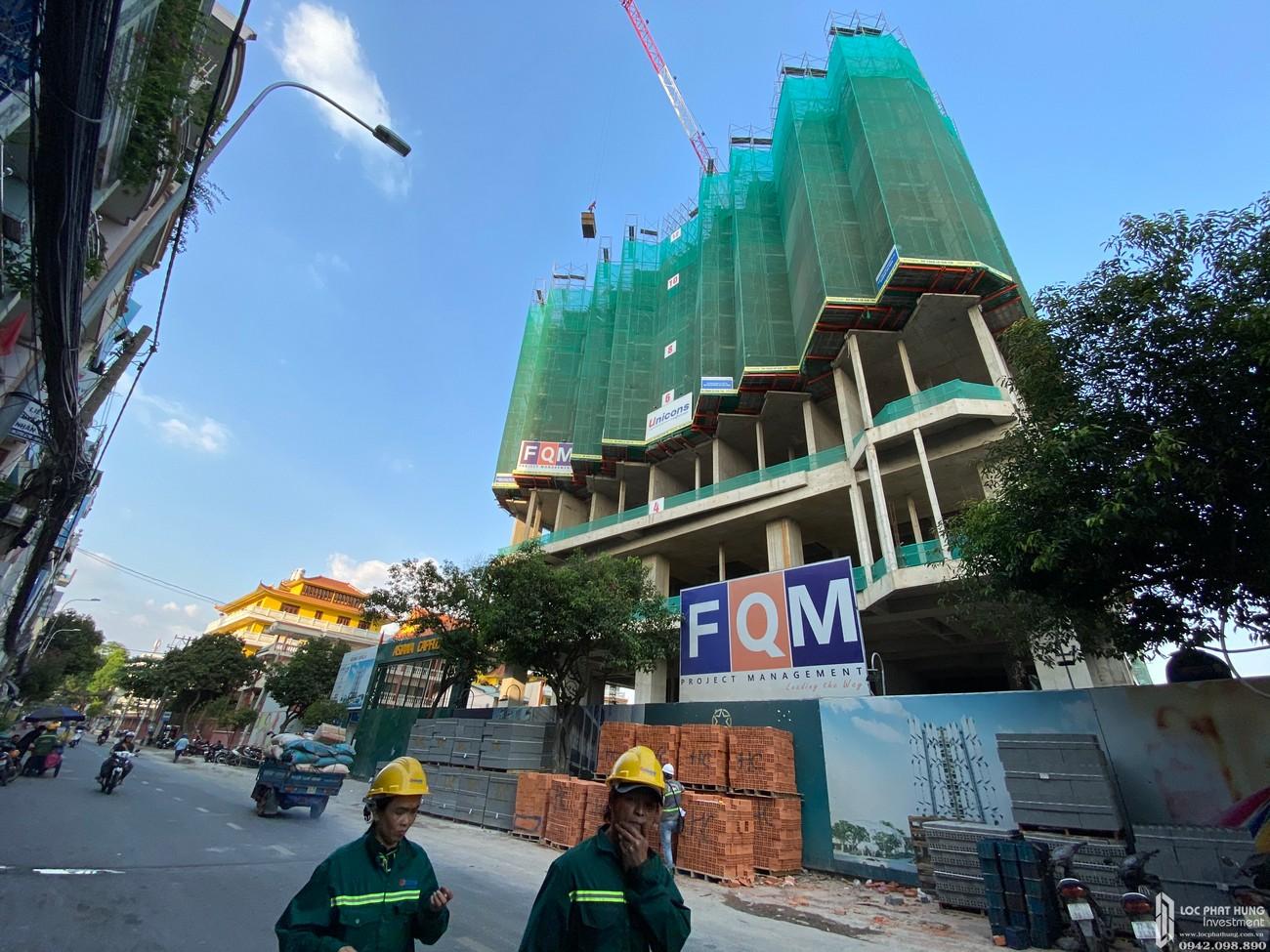 Tiến độ xây dựng dự án căn hộ Asiana Capella quận 6 tháng 02/2020