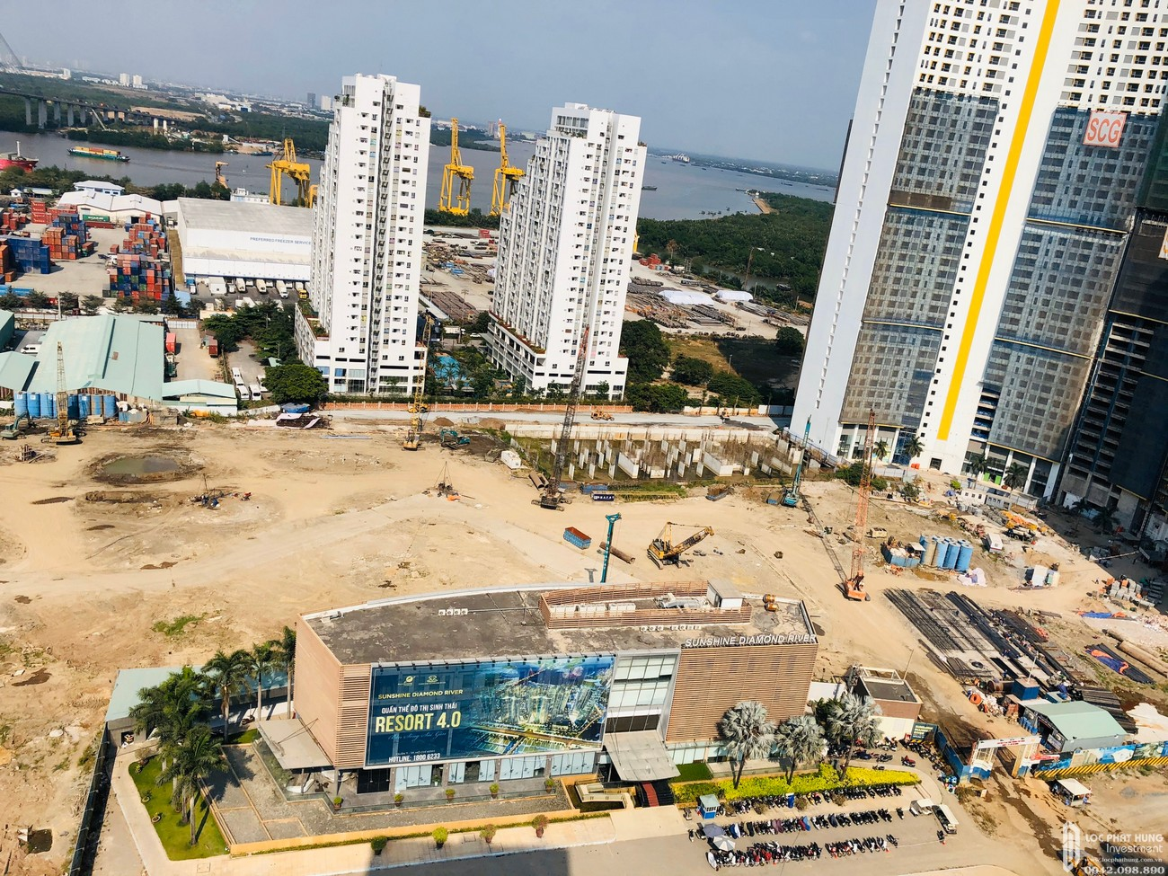 Tiến độ dự án căn hộ Sunshine Diamond River tháng 02/2020