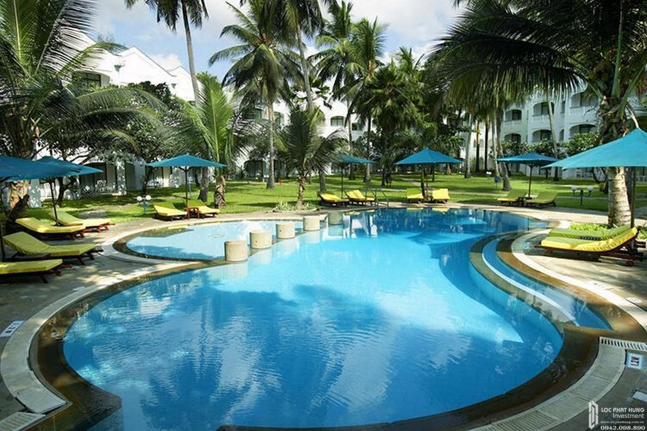 Hồ bơi dự án Căn Hộ chung cư Đức Long Golden Land Quan 7 Đường Huỳnh Tấn Phát chủ đầu tư Đức Long Gia Lai
