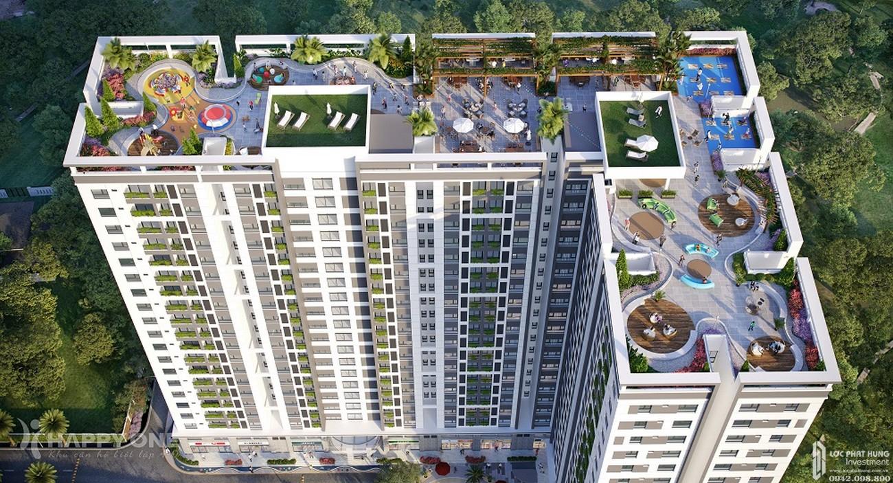 Quãng trường chân mây dự án Căn Hộ chung cư Happy One Central Phú Hòa Đường Đại Lộ Thủ Dầu Một chủ đầu tư Ốc Vạn Xuân