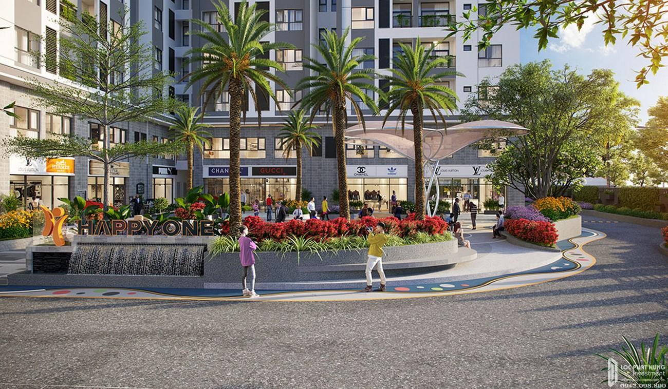 Công viên trung tâm dự án Căn Hộ chung cư Happy One Central Phú Hòa Đường Đại Lộ Thủ Dầu Một chủ đầu tư Ốc Vạn Xuân