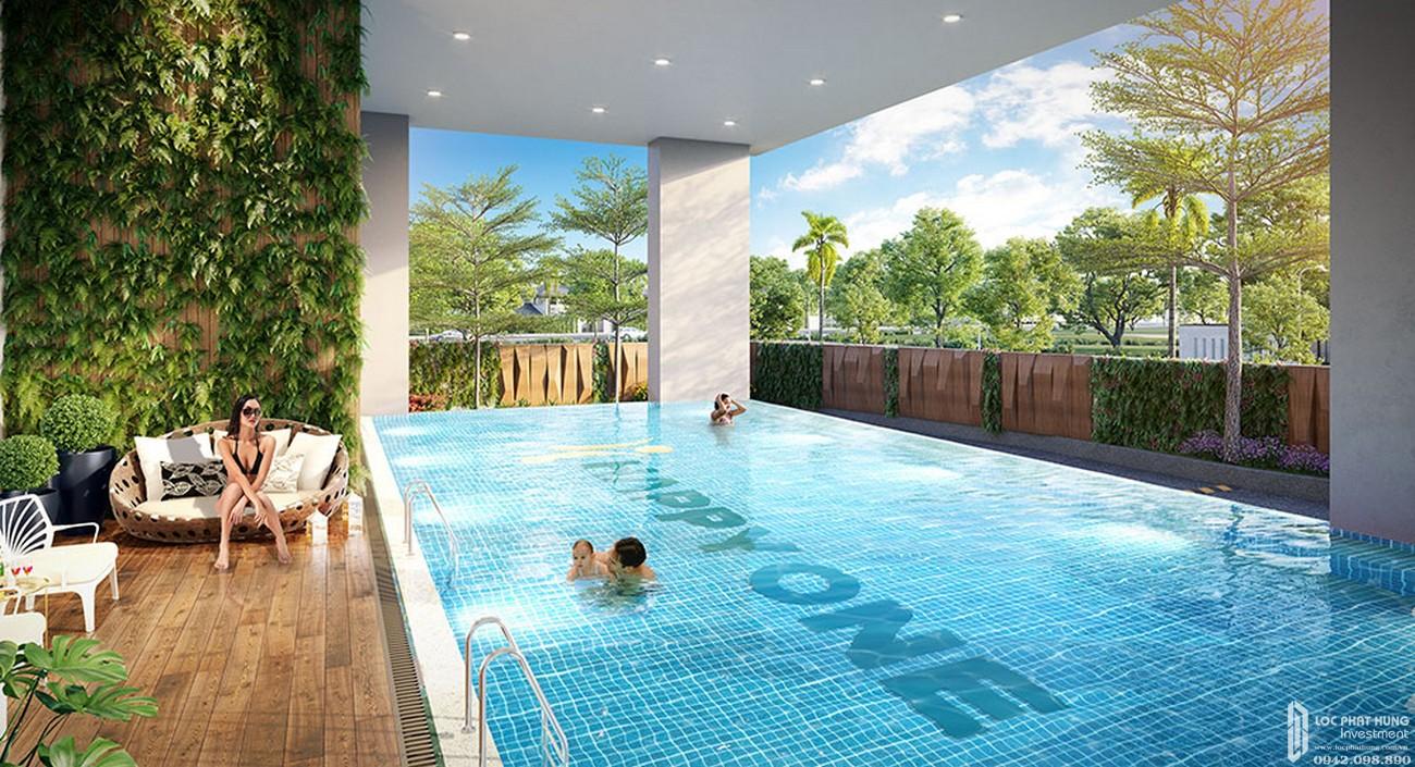 Hồ bơi tràn viền dự án Căn Hộ chung cư Happy One Central Phú Hòa Đường Đại Lộ Thủ Dầu Một chủ đầu tư Ốc Vạn Xuân