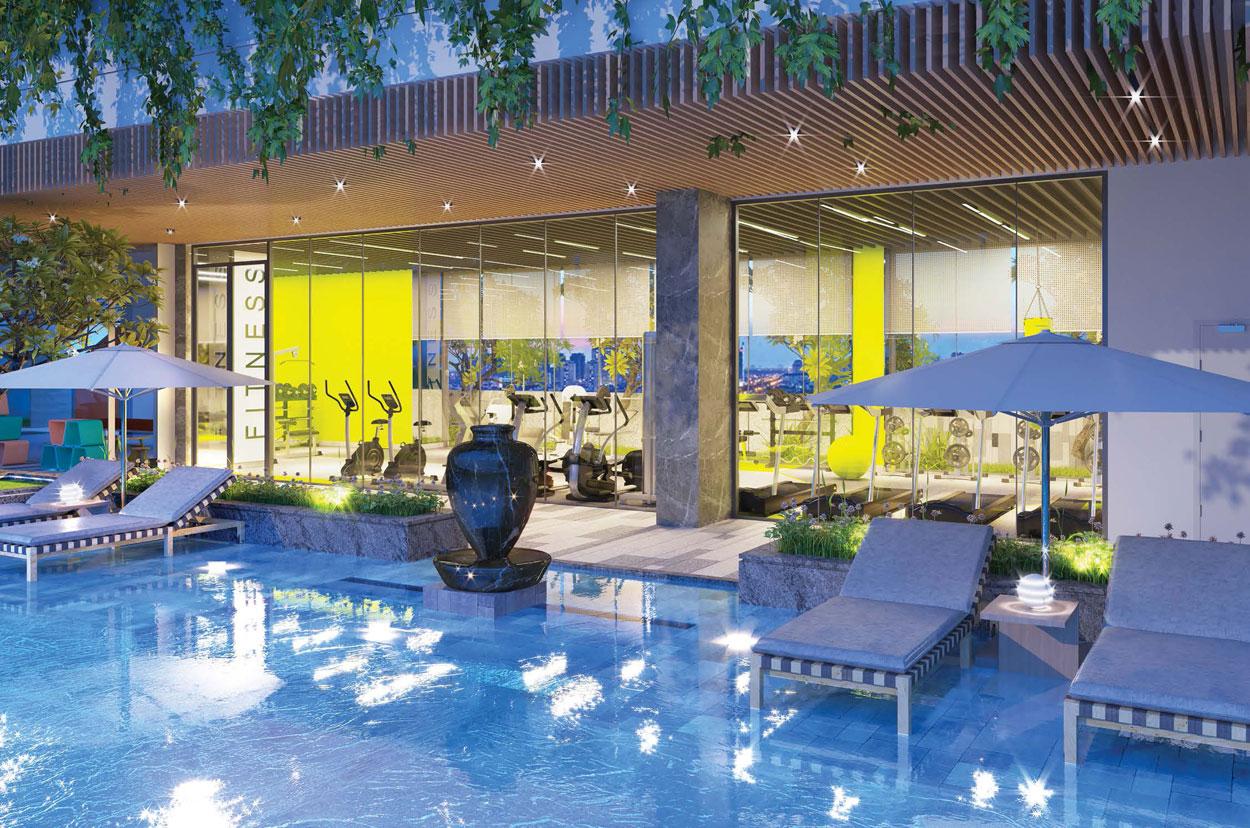 Tiện ích căn hộ Lux River View quận 7