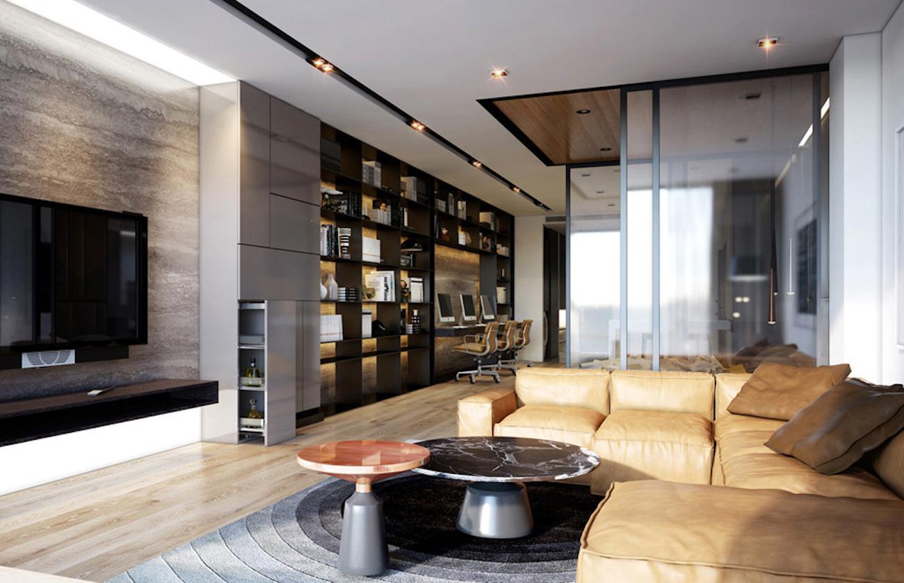 Khu officetel hiện đại