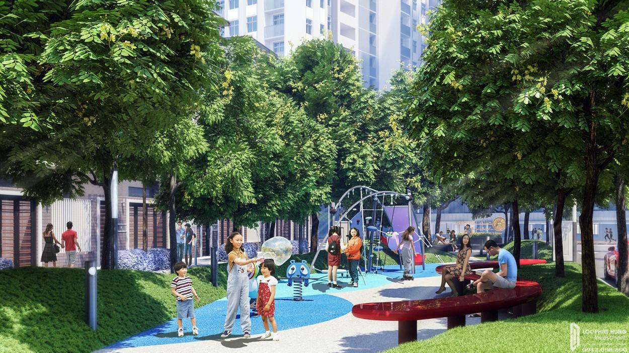 Tiện ích dự án căn hộ Hado Garden Homes quận 9