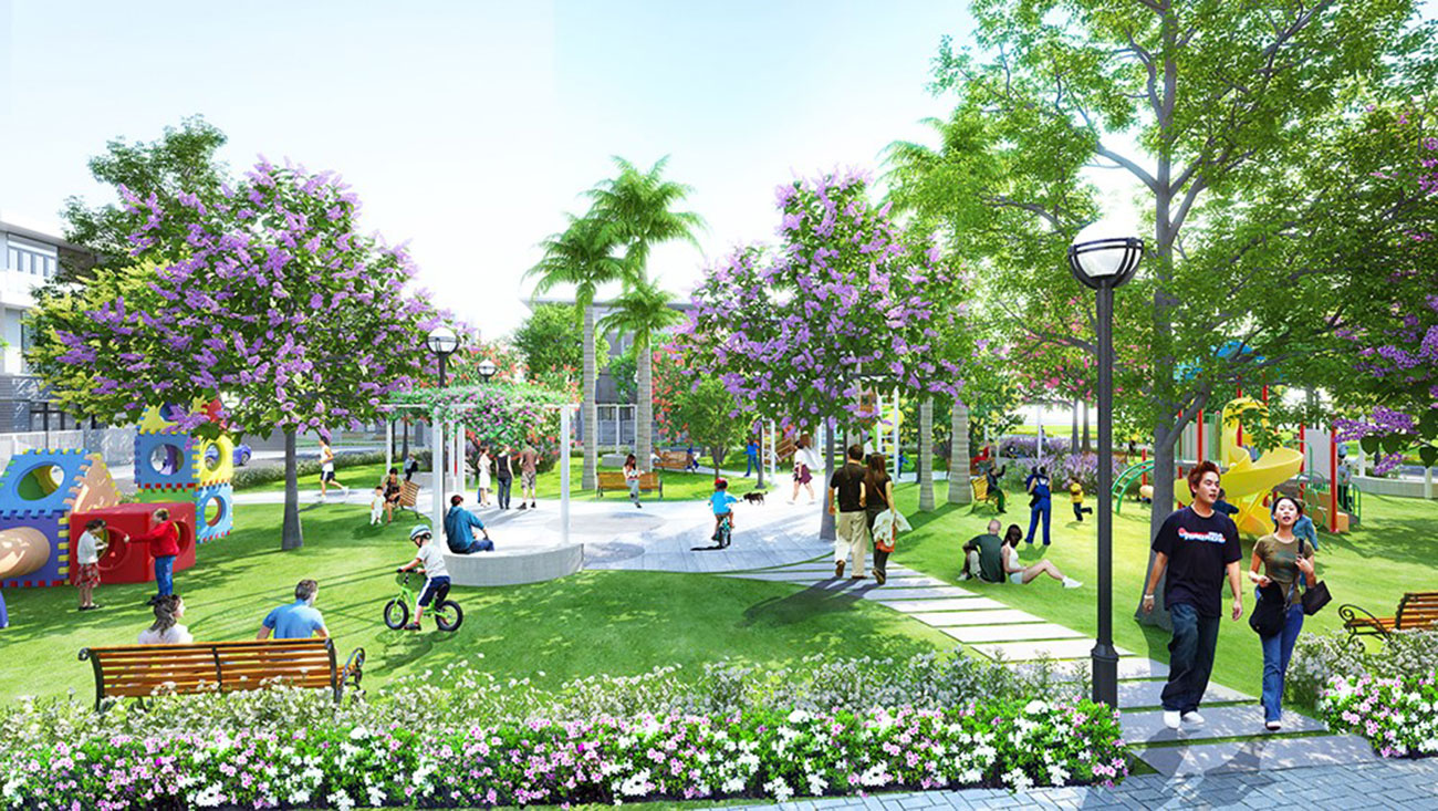 tiện ích dự án căn hộ Phú Đông Sky Garden Bình Dương