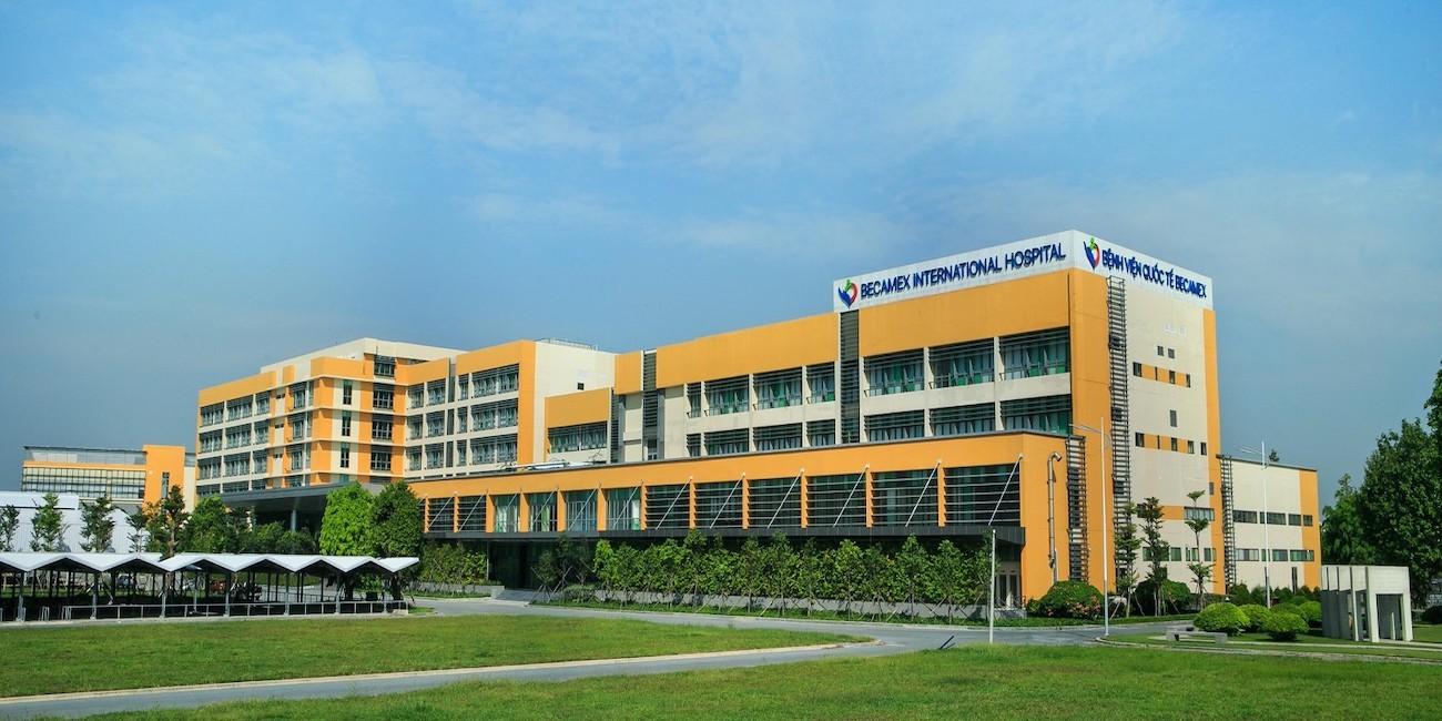 Bệnh viện Quốc tế Becamex vị trí emerald golf view