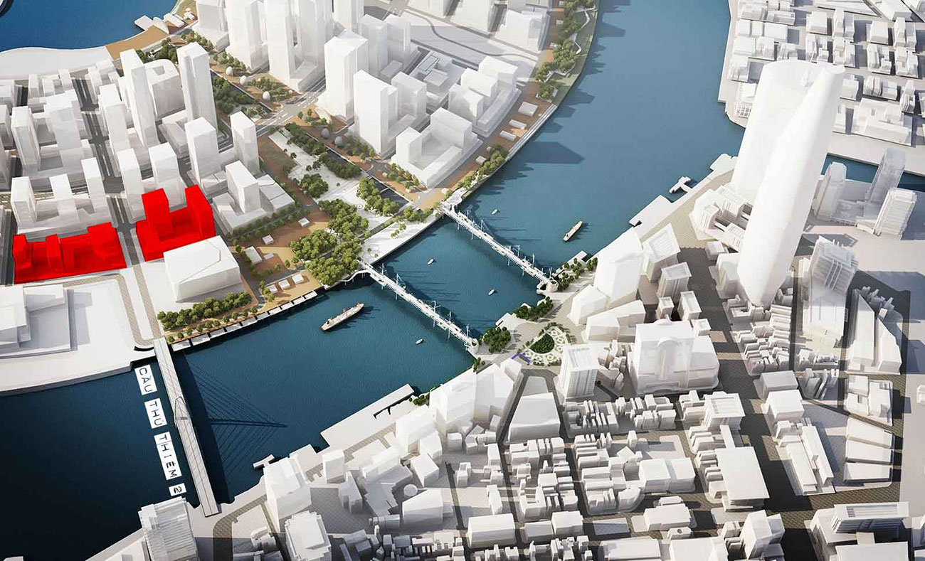 Metropole với vị trí vô cùng tiện lợi tại khu đô thị mới Thủ Thiêm