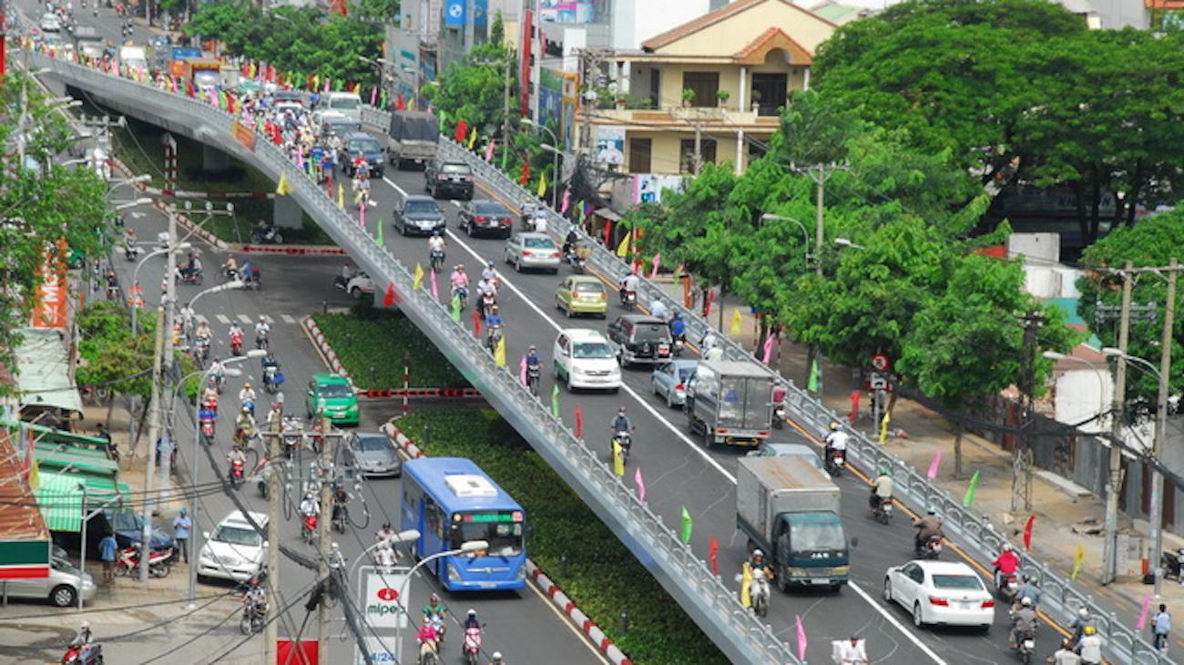 Bất động sản quận 10 ngày càng được đầu tư về hạ tầng giao thông