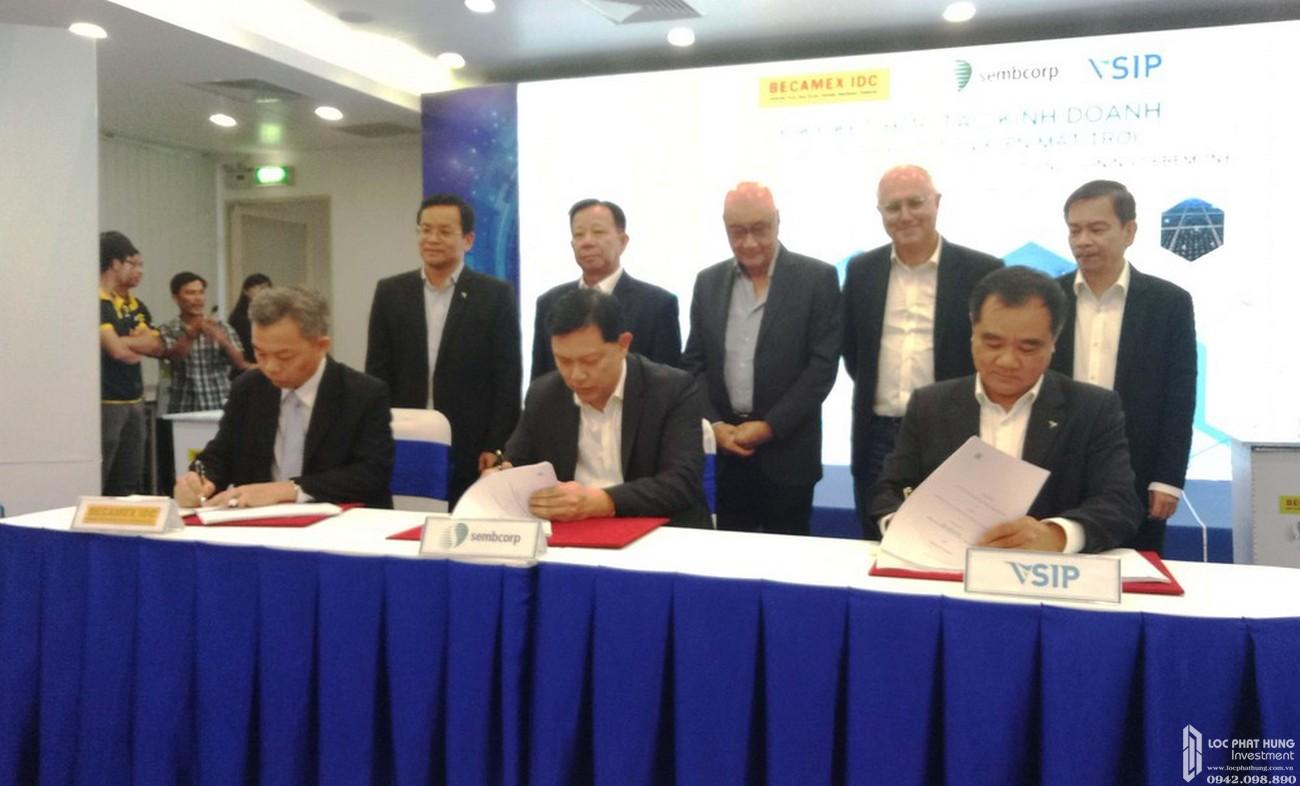 Chủ đầu tư dự án căn hộ chung cư Habitat Thuận An Đường Hữu Nghị chủ đầu tư VSIP Sembcorp Gateway