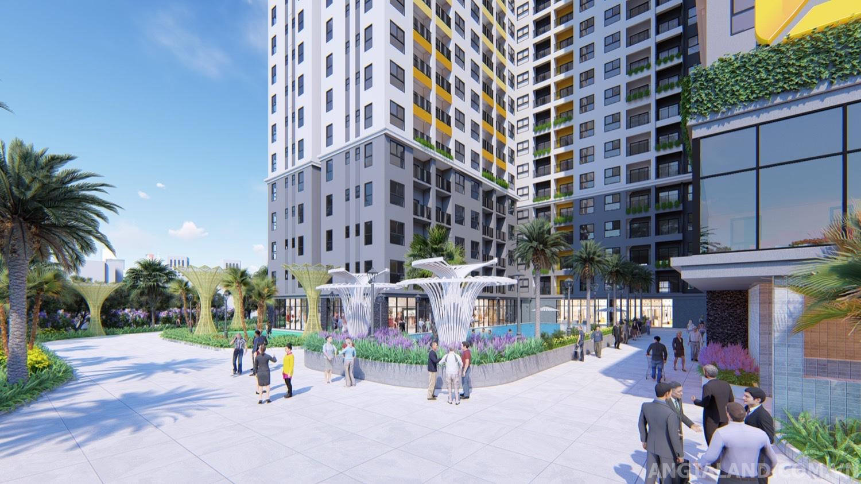 Hình ảnh phối cảnh dự án Bcons Green View