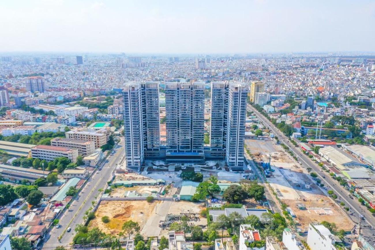 Hình ảnh thực tế căn hộ bàn giao dự án Kingdom 101 Quận 10