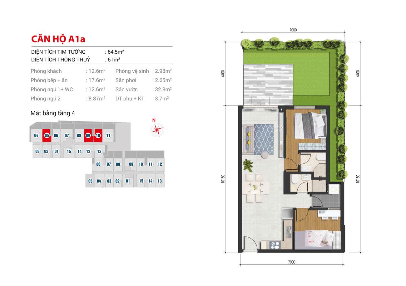 Thiết kế dự án căn hộ High Intela Quận 8