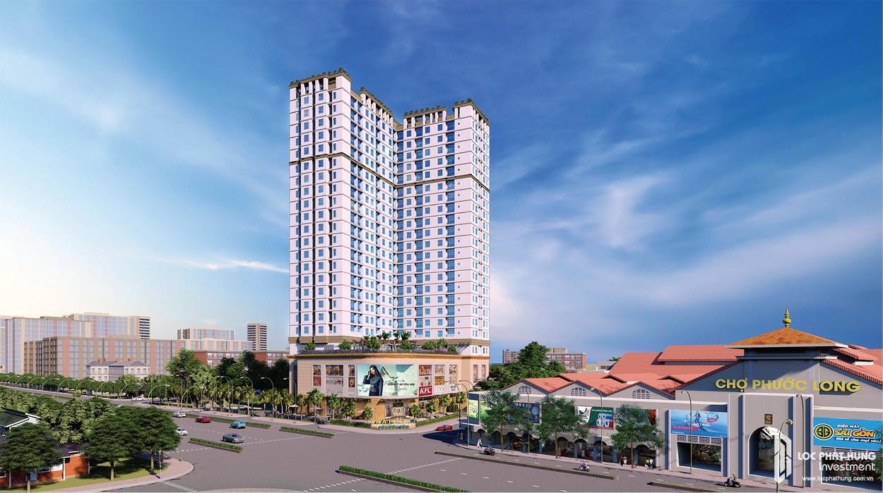 Phối cảnh tổng thể dự án căn hộ chung cư Viva Plaza Quận 7
