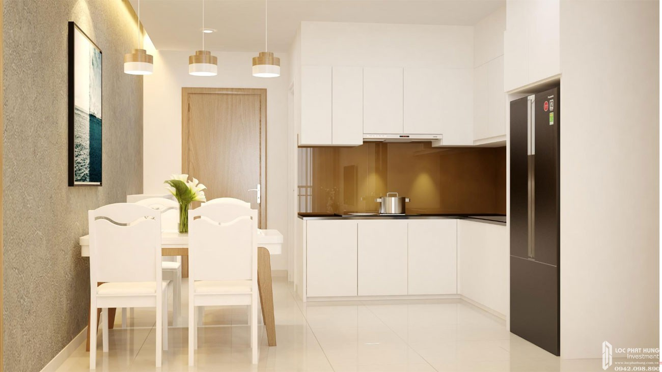 Nhà mẫu dự án căn hộ 3 phòng ngủ High Intela Quận 8