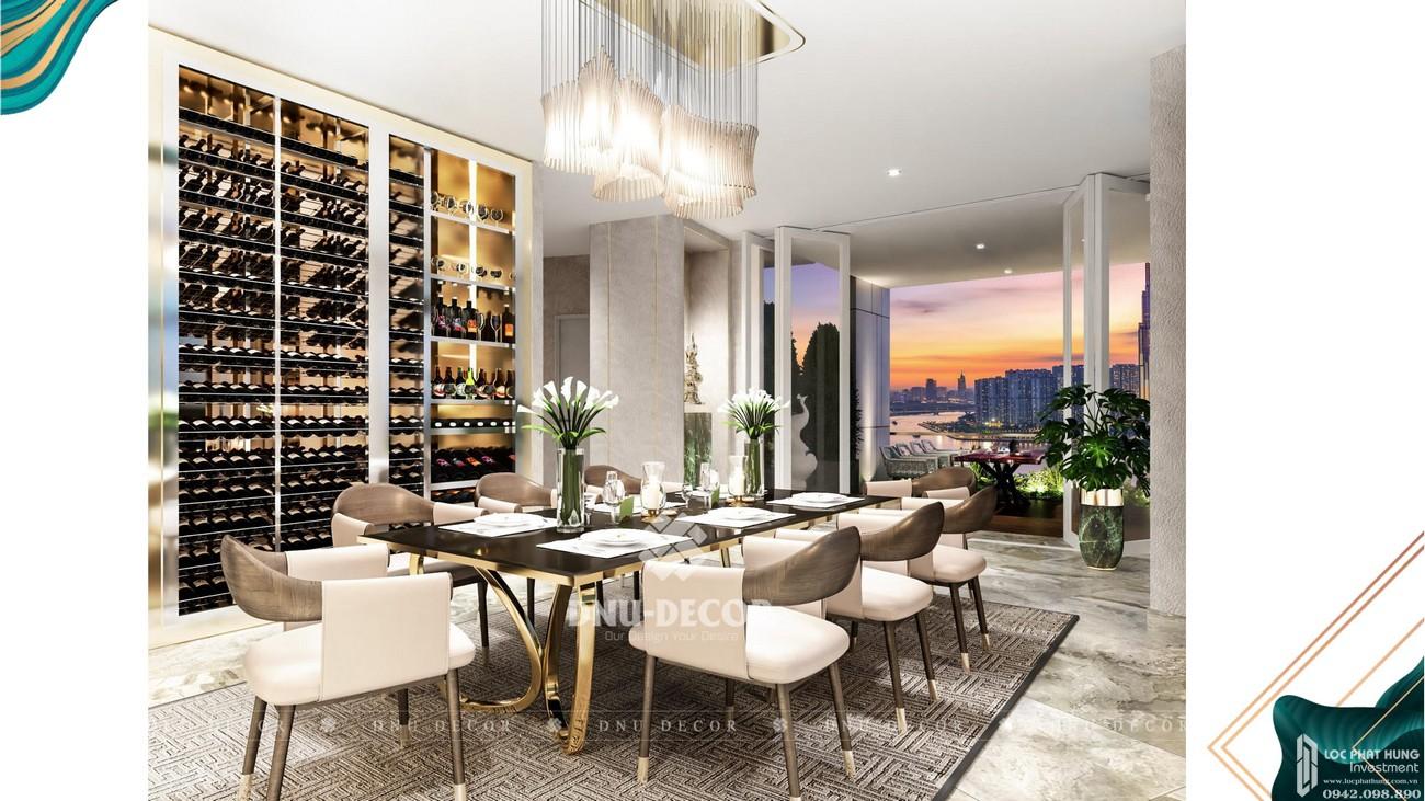 Phòng ngủ dự án căn hộ chung cư Sunshine Venicia Quận 2 Đường Thủ Thiêm chủ đầu tư Sunshine Group
