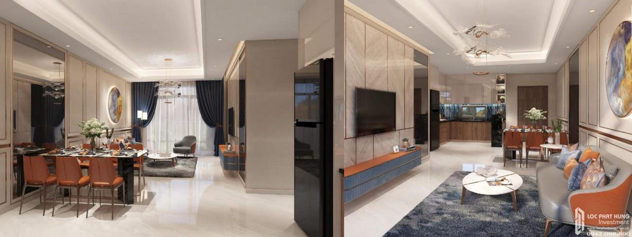 Nhà mẫu dự án căn hộ chung cư Opal Boulevard Dĩ An Đường Phạm Văn Đồng chủ đầu tư Đất xanh Group