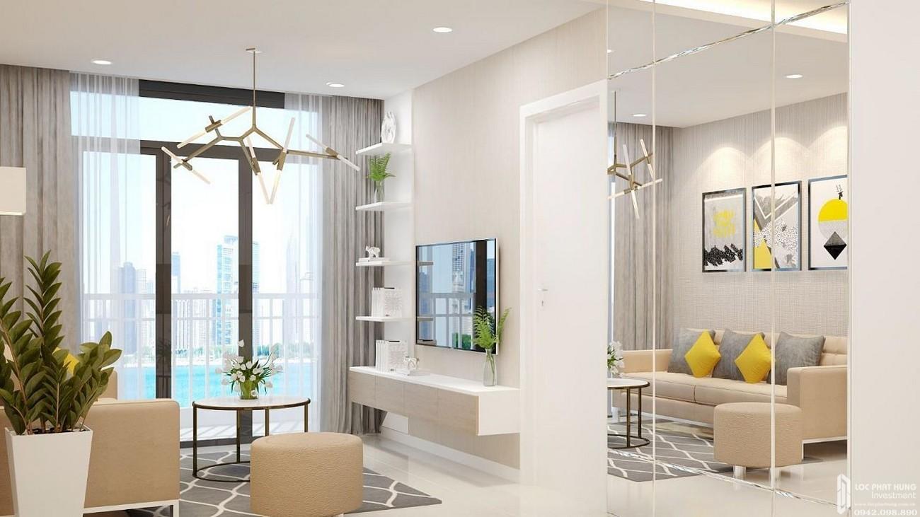 Nhà mẫu dự án căn hộ West Intela Quận 8