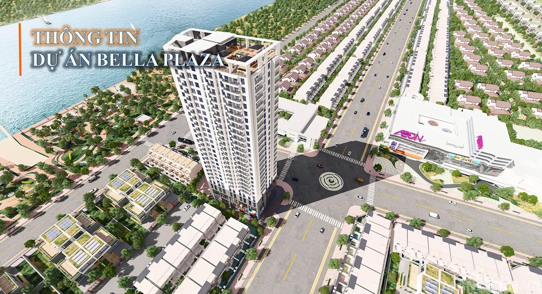 Phối cảnh dự án Bella Plaza Biên Hòa Đồng Nai