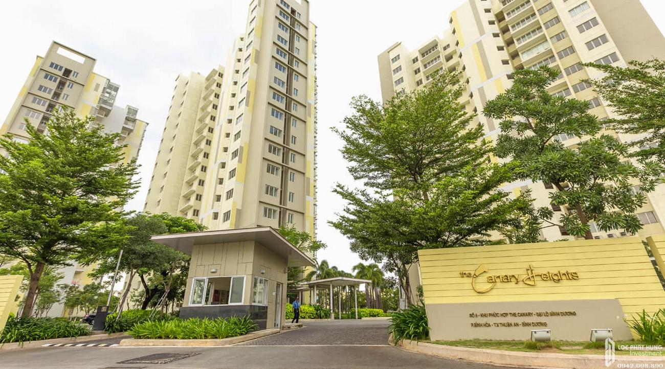 Phối cảnh tổng thể dự án căn hộ chung cư Canary Heights Thuận An Đường QL 13 chủ đầu tư GuocoLand