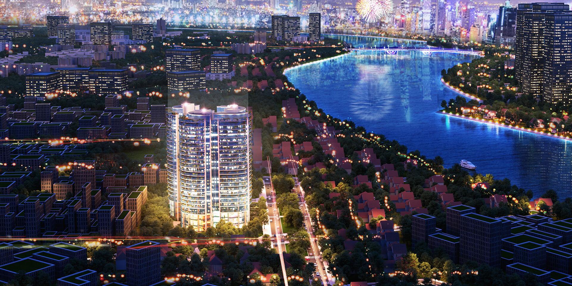 Phối cảnh dự án án căn hộ Sunshine Venicia Quận 2 chủ đầu tư Sunshine Group Thủ Thiêm