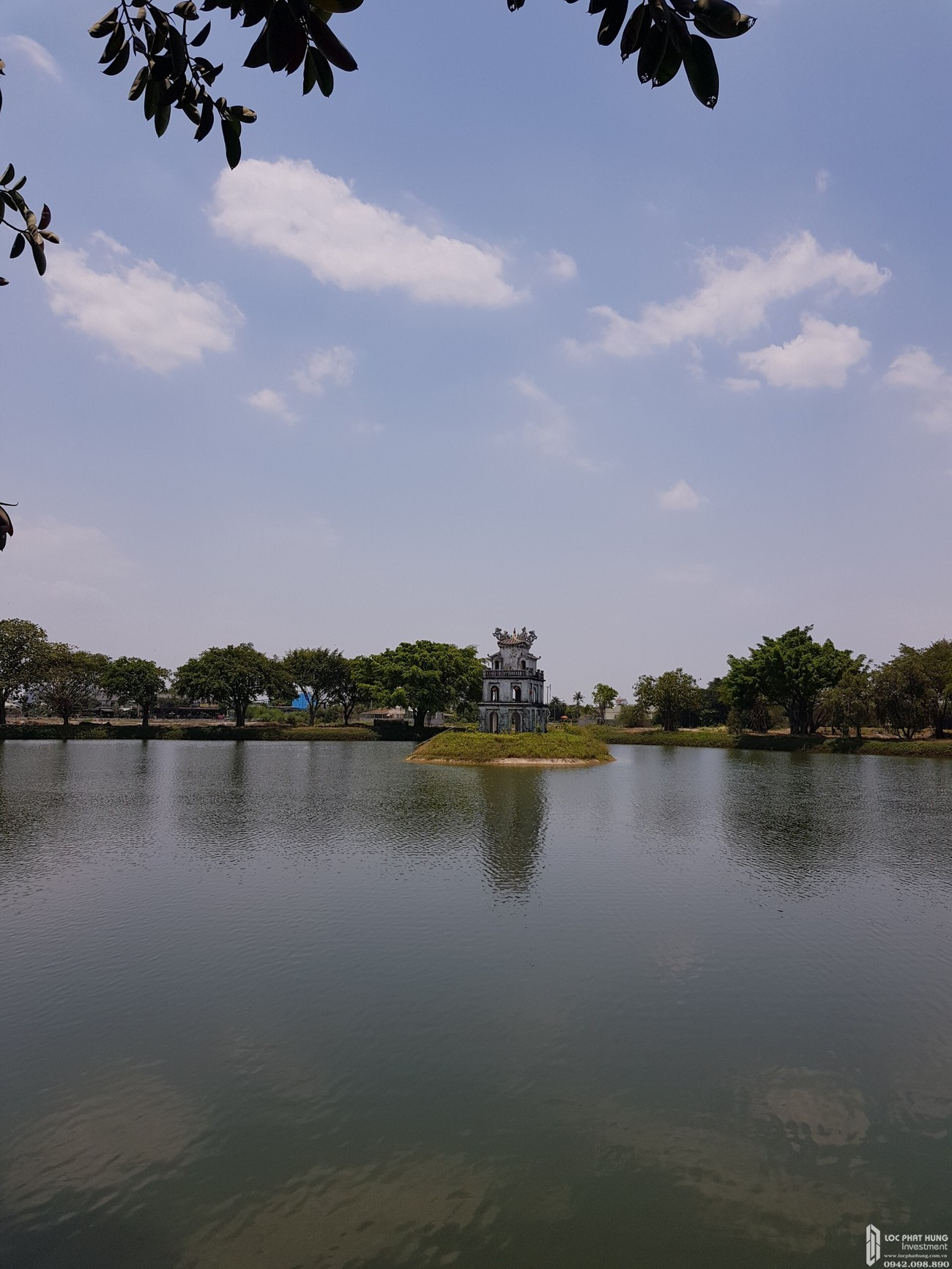 Phối cảnh tổng thể dự án căn hộ chung cư Hồ Gươm Xanh Thuận An City Thuận An Đường 136 ĐL Bình Dương chủ đầu tư TBS Land